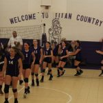 8TH VOLLEYBALL VS ORRVILLE 10/8/18