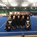 Girls Varsity Gymnastics finishes 1st place against Cloverleaf