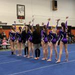 Girls Varsity Gymnastics finishes 2nd place at Massillon