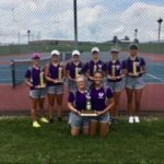 Lady Titans Win West Holmes Invite for 3rd year in a row.