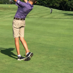 Golf team splits a tri-match losing to Orrville but defeating Fairless