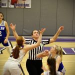 GIRLS VARSITY BASKETBALL VS TUSLAW 1/4/2020
