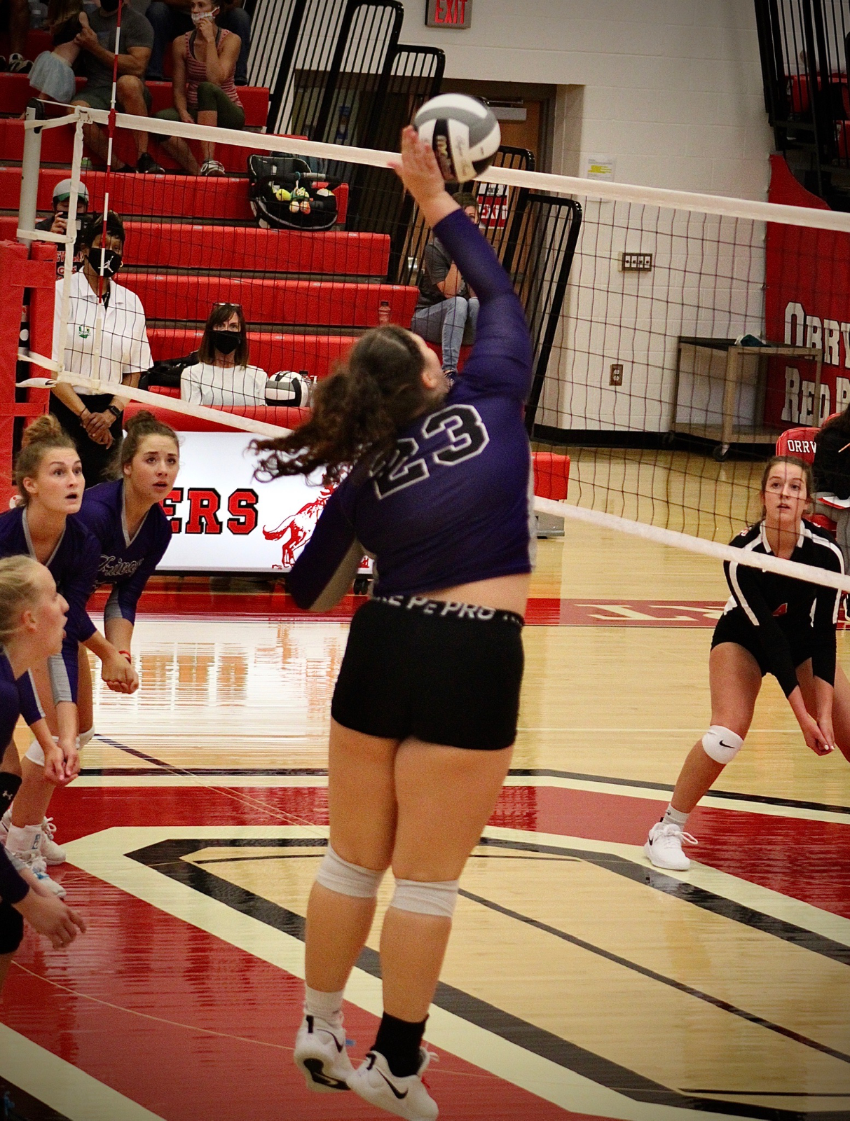 VOLLEYBALL 9/3/2020 VS ORRVILLE