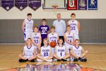 Boys JV Basektball Team 2020-2021