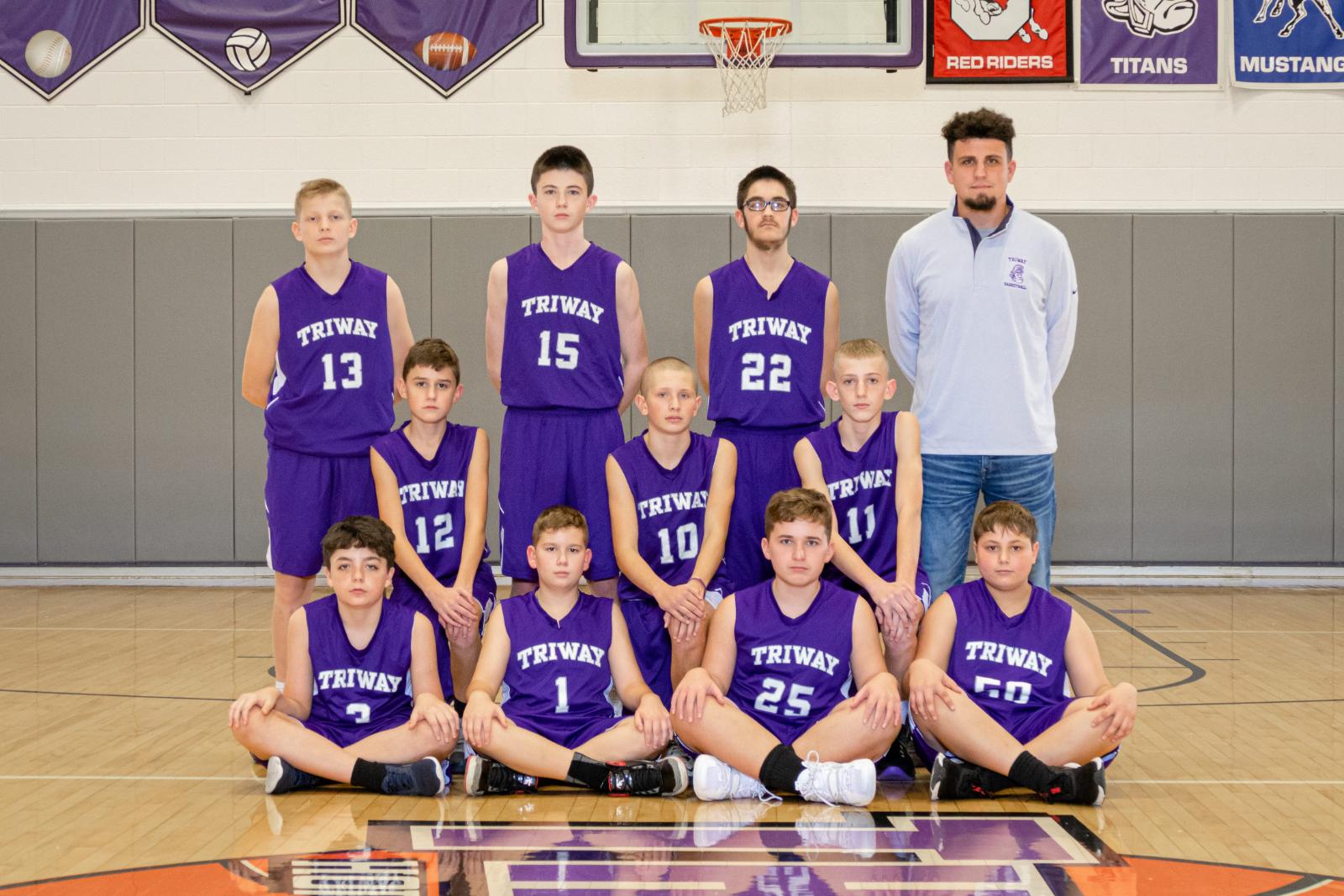 7th Grade Boys Basketball 2020-2021