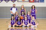 8th Grade Girls Basketball Team 2020-2021