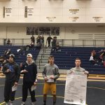 Lapeer High School Boys Varsity Wrestling finishes 3rd place