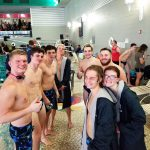 Boys Varsity Swimming falls to Bay City Western 140 – 45