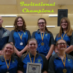 Girls Varsity Bowling finishes 1st place at Conference Open Invitational