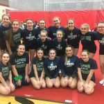 Girls Varsity Competitive Cheer finishes 8th place at SVL Championship