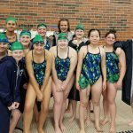 Girls Varsity Swim & Dive falls to Heritage