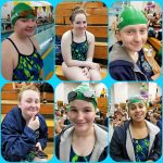 Girls Varsity Swimming falls to Powers Catholic 145 – 29