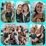 Girls Varsity Swim & Dive – 25 PB's Achieved at Home Meet Against Midland High