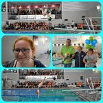 Girls Varsity Swim & Dive Falls to Davison – Senior Night – Rowley 1st in Diving!