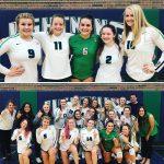 Lapeer Varsity Volleyball beats Powers Catholic 3 – 2