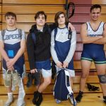 Lapeer Varsity Wrestlers beat Bay City Western, lose to Grand Blanc Wednesday night
