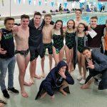 Boys Varsity Swim & Dive falls to Powers Catholic 94 – 78