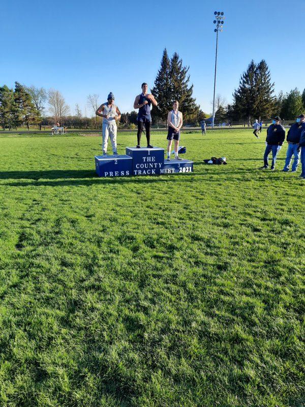 Boys Track County Meet 4/30/21