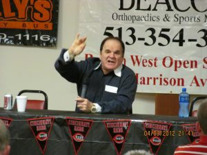 Pete Rose 2012 Sports Stag