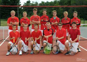 EC Boys Tennis 2016