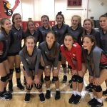 Girls JV Volleyball falls to Southport 0-2 at Southport Invite