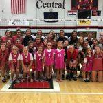 Girls Varsity Volleyball beats Rushville 3 – 0