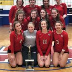 Girls Varsity Volleyball Wins Union County Invite for 3rd Year in a Row