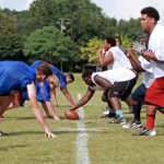 Chieftains Begin Fall Football Camp