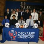 First Ever National Signing Day @ Chickasaw