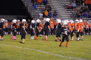 Taylor Pigskin 5/6th grade vs Hamilton Heights 6th grade.