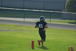 7/8th grade Football vs maconaquah 8th grade.