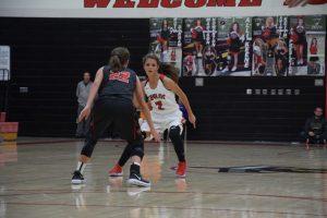 Taylor HS Girls Varsity Basketball vs Clinton Prairie 10/31/17