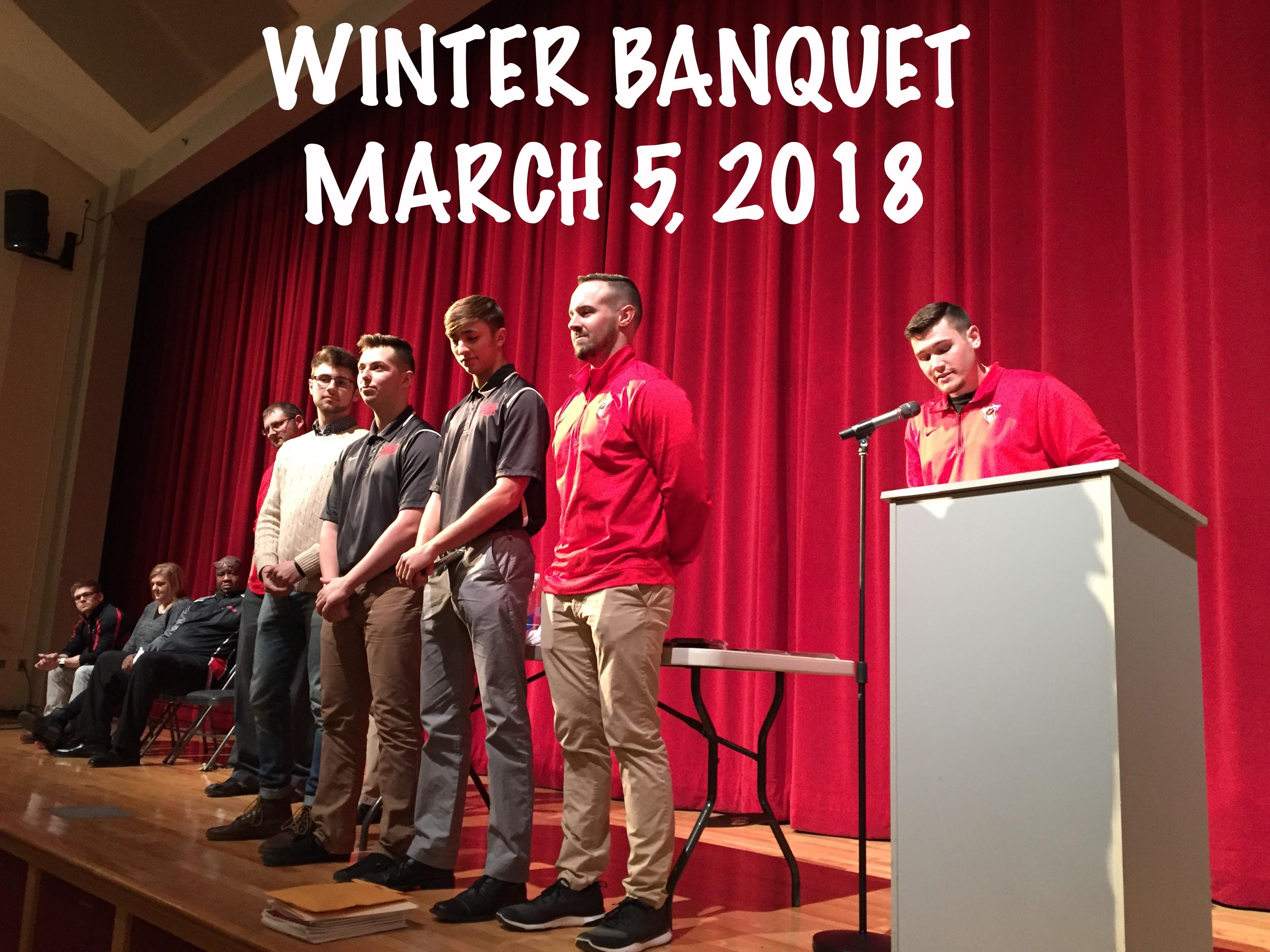 Winter Banquet March 5