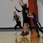 Taylor HS Girls Varsity Basketball vs Carroll at Clinton Prairie Shoot-Out 6/8/18