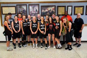 Taylor HS Girls Varsity Basketball vs Lebanon at CP Shoot-out 6/8/18