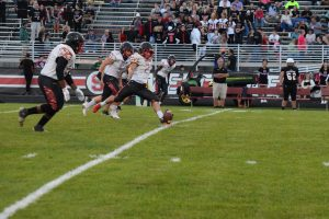 Taylor HS Varsity Football vs Sheridan 9-21-18