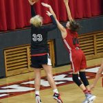 Taylor HS Girls Basketball Scrimmage vs Frankton 10/27/18