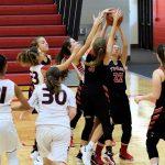 Taylor HS Girls JV Basketball vs Mississinewa 11/3/18
