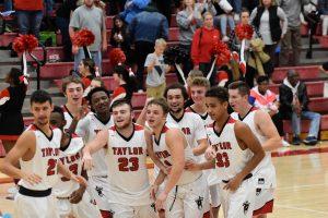 Taylor HS Boys Varsity Basketball vs Oak Hill 12/1/18