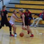 Taylor HS Girls Varsity Basketball vs Rossville 1/23/19