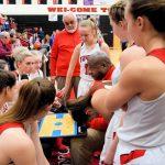 Taylor HS Girls Varsity Basketball vs Carroll SENIOR NIGHT 1/24/19