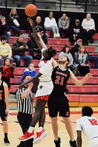 Taylor HS Boys Varsity Basketball vs Sheridan 1/25/19