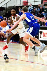 Taylor HS Boys Varsity Basketball vs Tipton 1/27/19