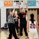 Taylor HS Girls Varsity Basketball SECTIONAL vs Alexandria 1/29/19