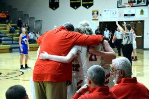 Taylor HS Girls Varsity Basketball Sectional vs Tipton 2/2/19
