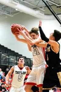 Taylor HS Boys JV Basketball vs Delphi 2-9-19