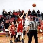 Taylor Middle School Girls Basketball vs Maconaquah 2/25/19