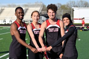 Taylor HS Varsity Track at Titan Relays 4/26/19