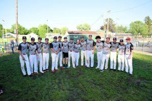 Taylor HS Varsity Baseball vs Elwood at SECTIONAL 5/23/19