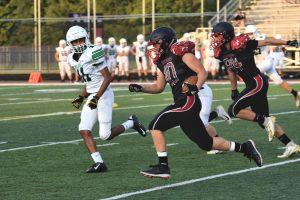 Taylor HS Varsity Football vs Clinton Central Homecoming 9-20-19